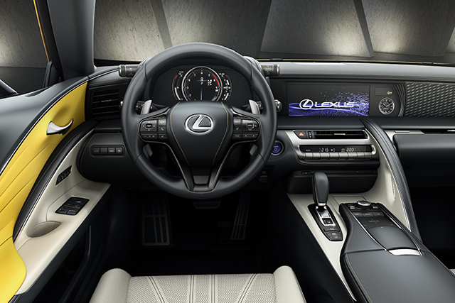 Steering Wheel in LC Yellow Edition