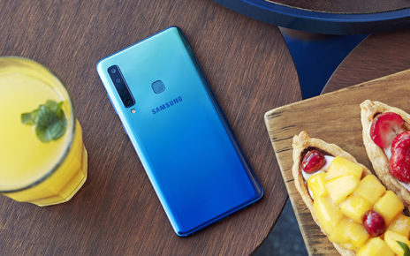 Back View of Samsung Galaxy A9