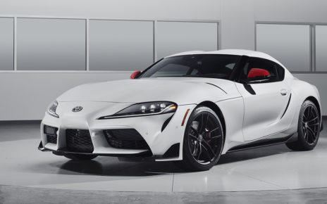 Toyota Supra Launch Edition