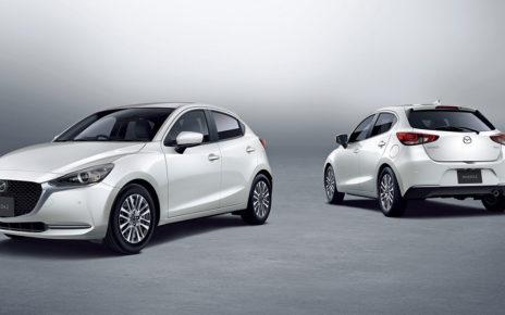 Mazda 2 Facelife in Japan