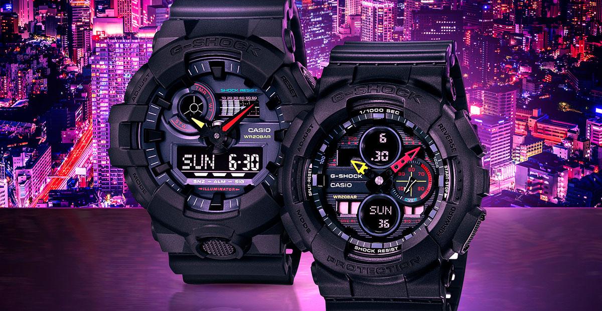 Casio G-Shock Neo Tokyo Series
