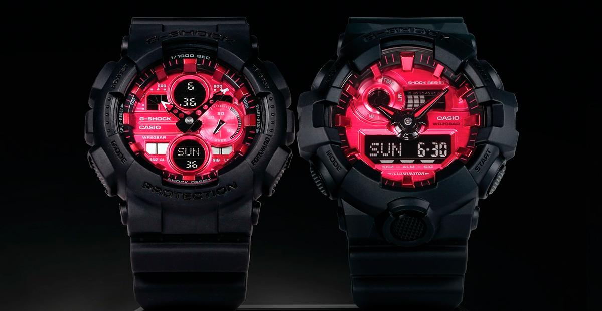G-Shock Adrenalin Red Series