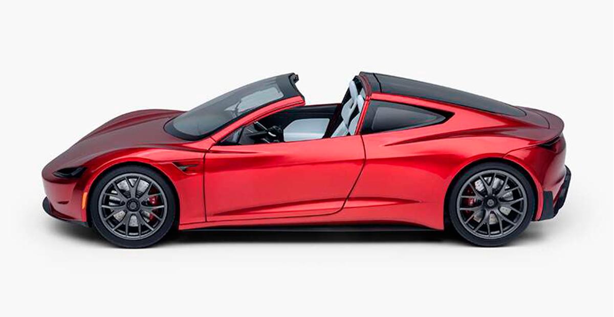 Tesla Diecast 1:18 Scale Roadster