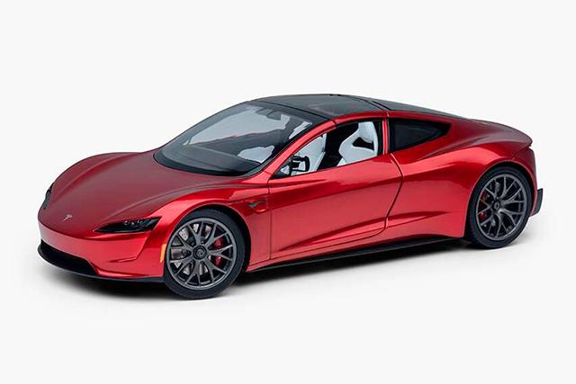 Tesla Roaster Replica