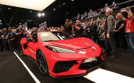 Chevrolet Corvette Stingray VN #0001