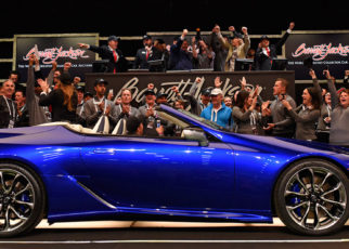Lexus LC500 Convertible Inspiration Series