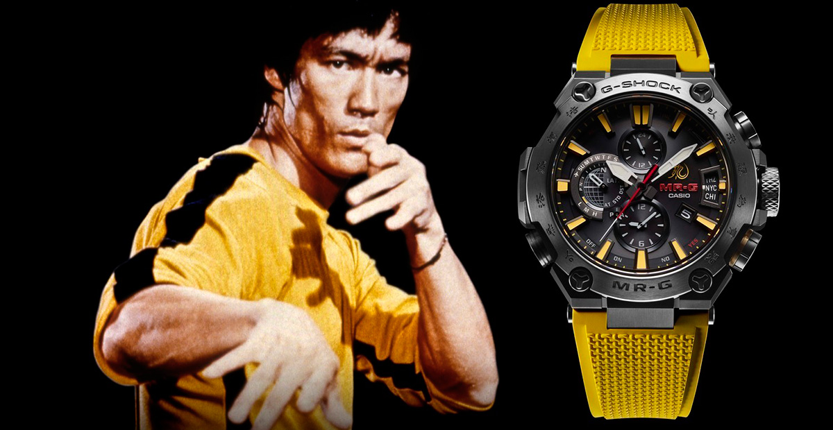 Casio G-Shock MR-G x Bruce Lee