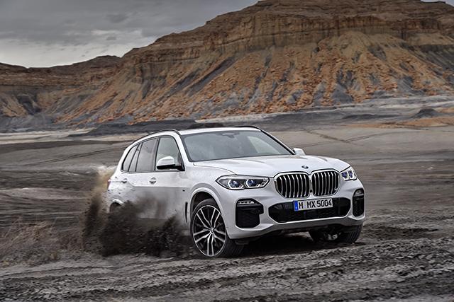 New BMW X5 xDrive 40d