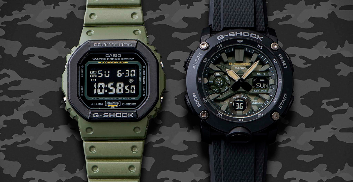 Casio G-Shock Street Utility Military Series