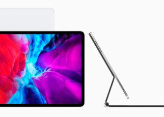 New iPad Pro with Magic Keyboard