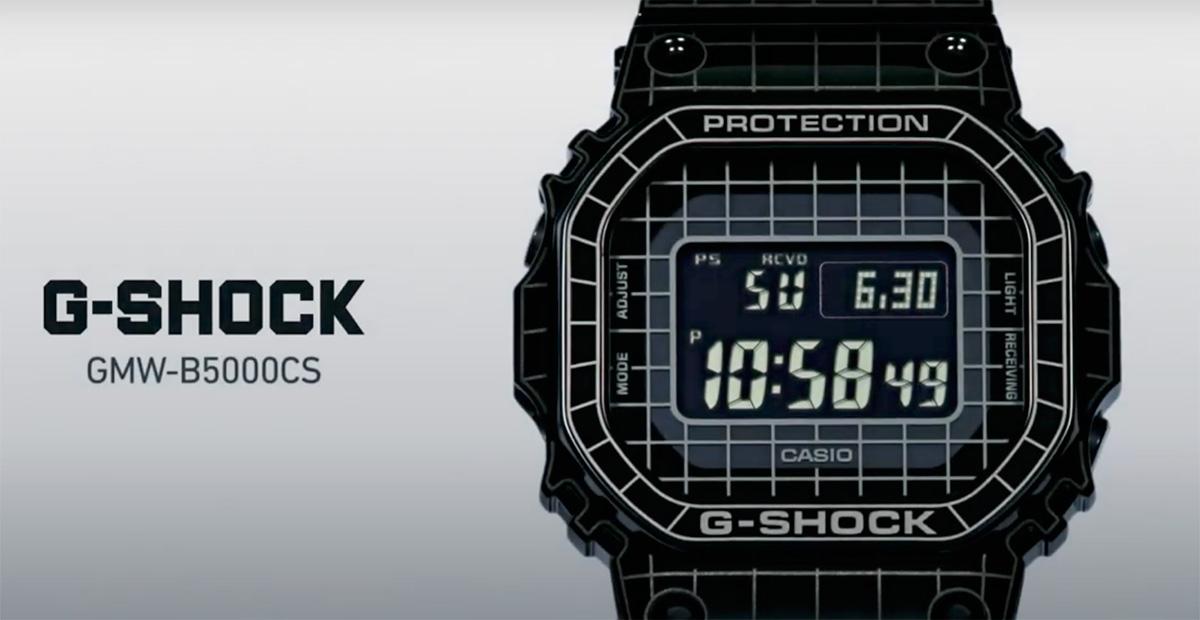 New G-Shock GMWB5000CS-1