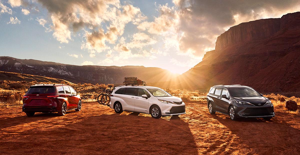 All New Toyota Sienna