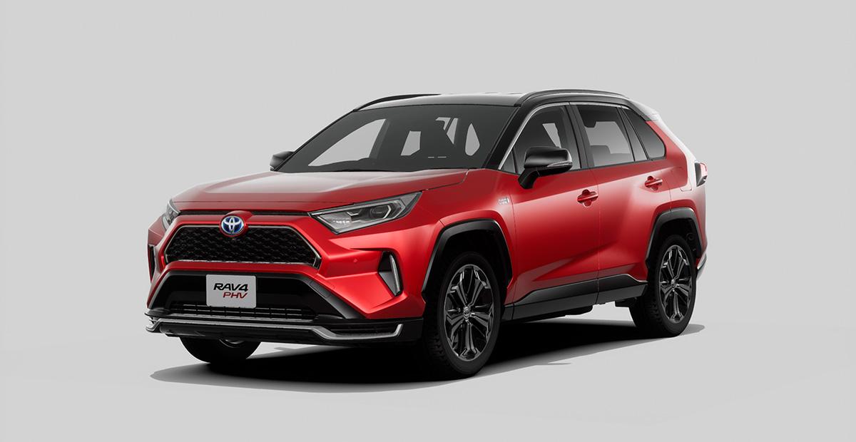 New Toyota RAV4 PHEV