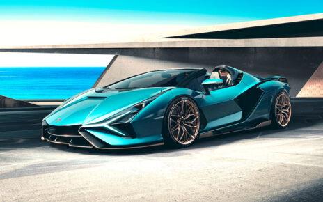 New Lamborghini Sian Roadster