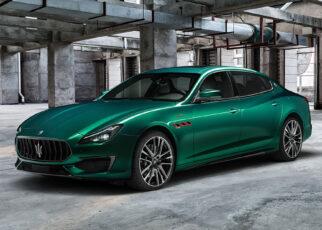 New Maserati Quattroporte Trofeo
