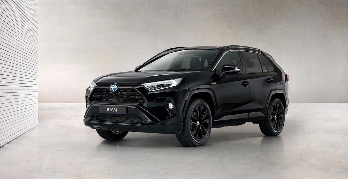 New Toyota RAV4 Hybrid Black Edition