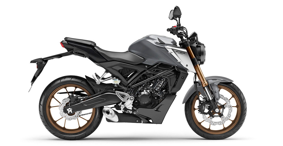 New Honda CB125R MY2021