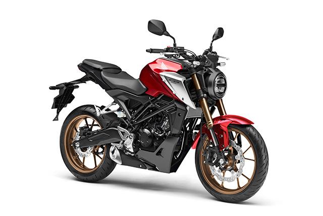 New Honda CB125R