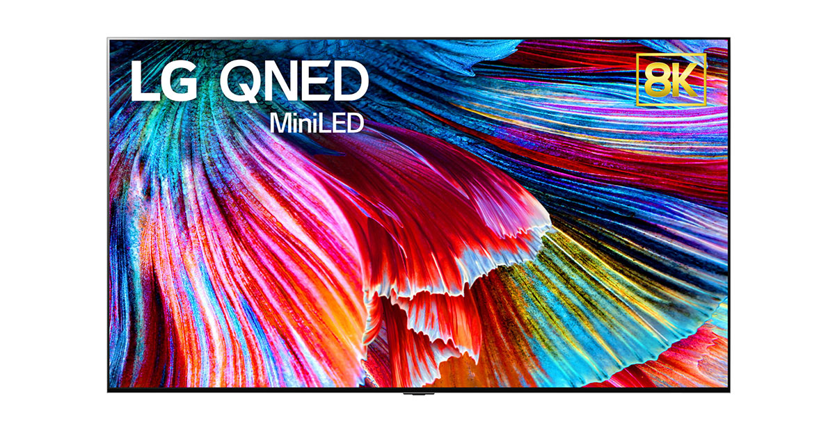 New LG QBED Mini LED TV
