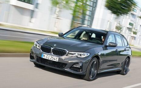 New BMW 320e