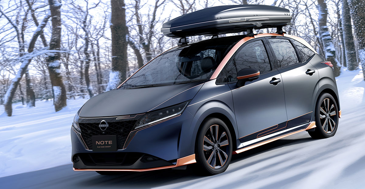 Nissan Note Play Gear Concept