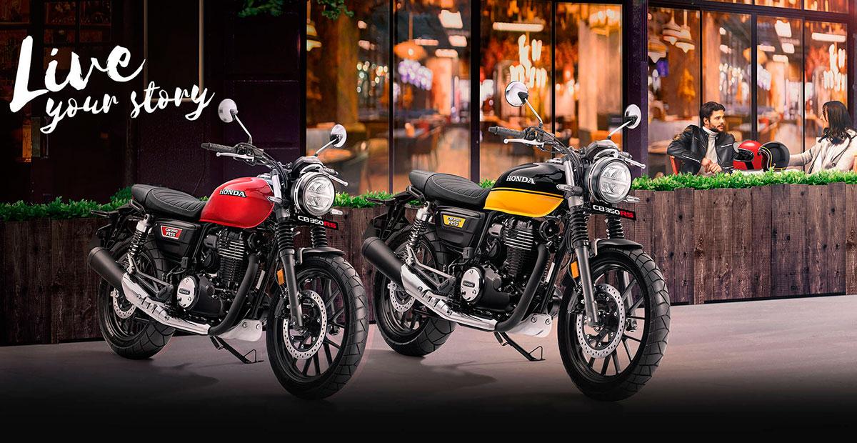 New Honda CB350 RS