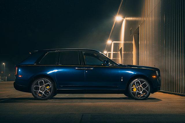 Bespoke Rolls-Royce Black Badge Cullinan