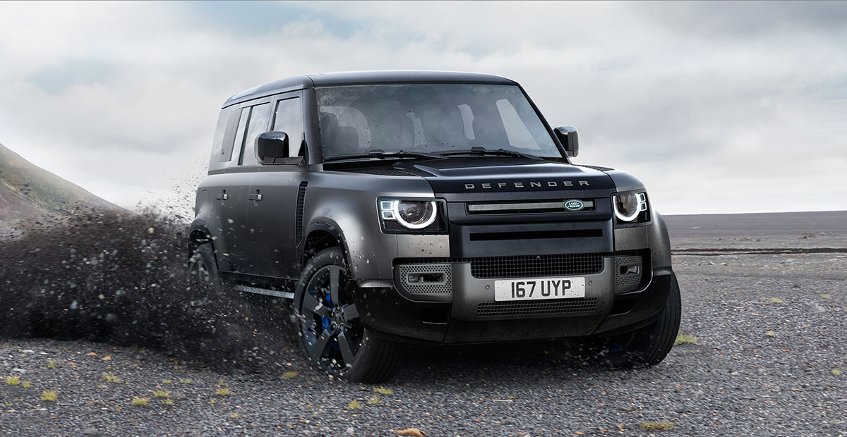 New Land Rover Defender V8 Carpathian Edition
