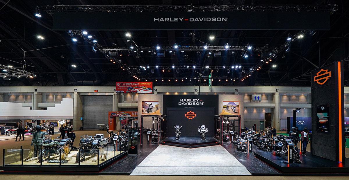 ฮาร์ลีย์-เดวิดสัน เปิดตัว Pan America 1250