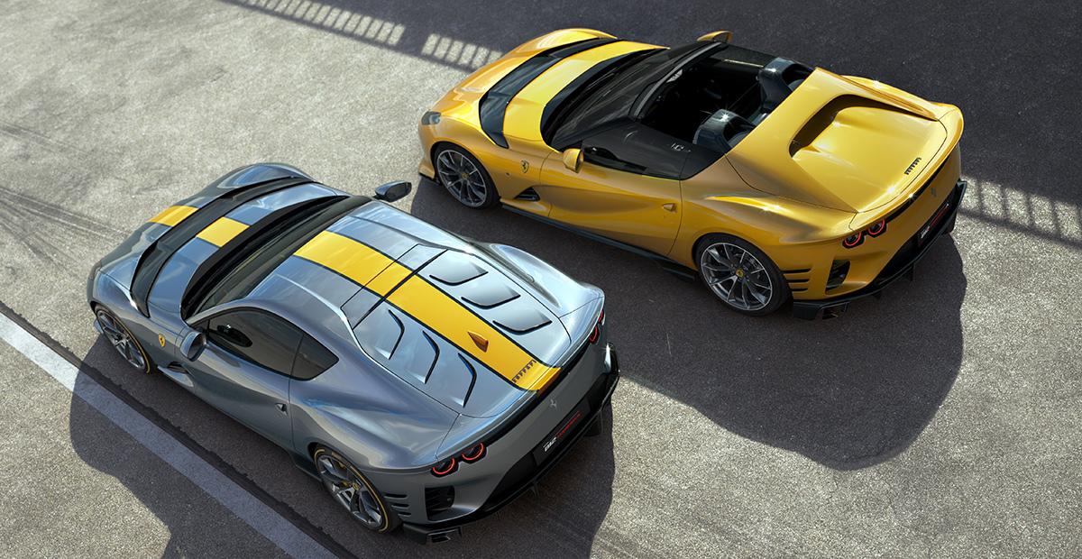 New Ferrari 812 Competizione and 812 Competizione A