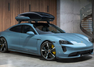 New Porsche Roof Box
