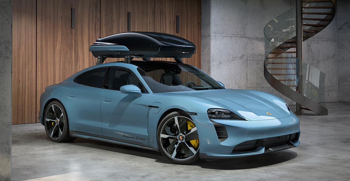 New Porsche Roof Box