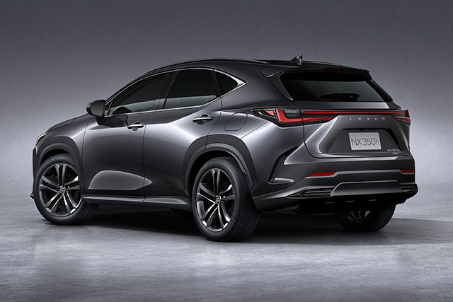 Black View of All New NX