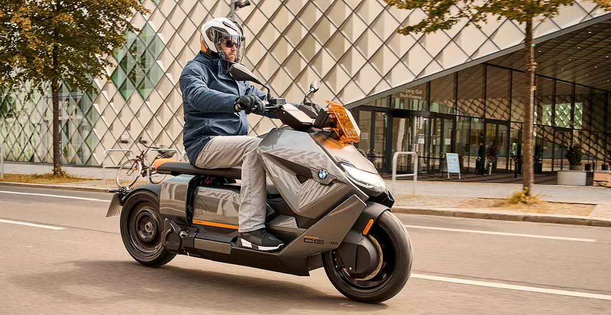 New BMW CE 04