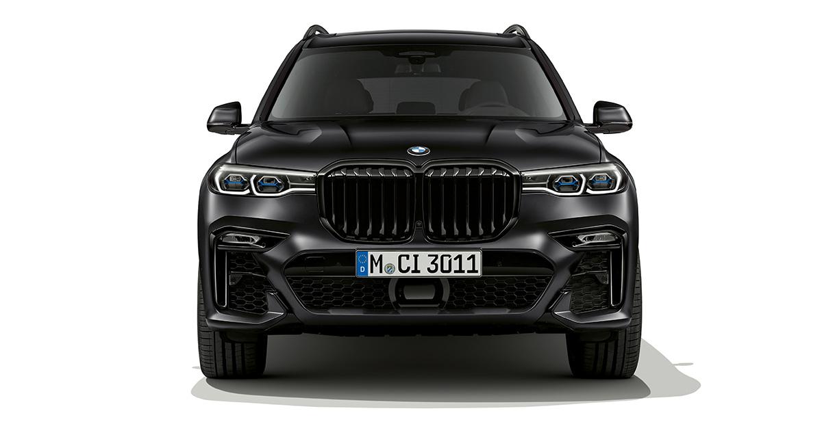 BMW X7 Edition in Frozen Black Metallic