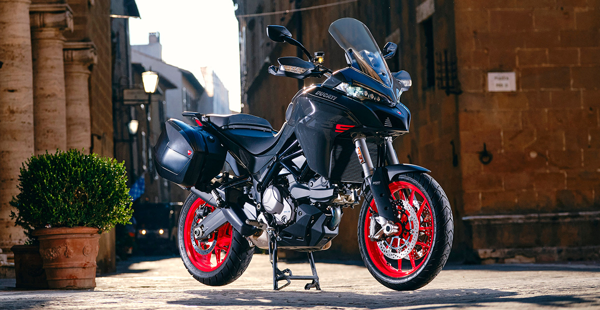 New Ducati Multistrada V2