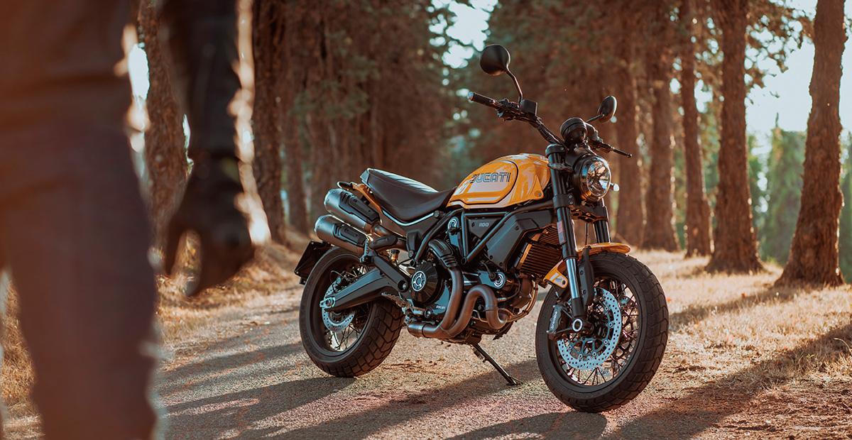 New Ducati Scrambler 1100 Tribute Pro